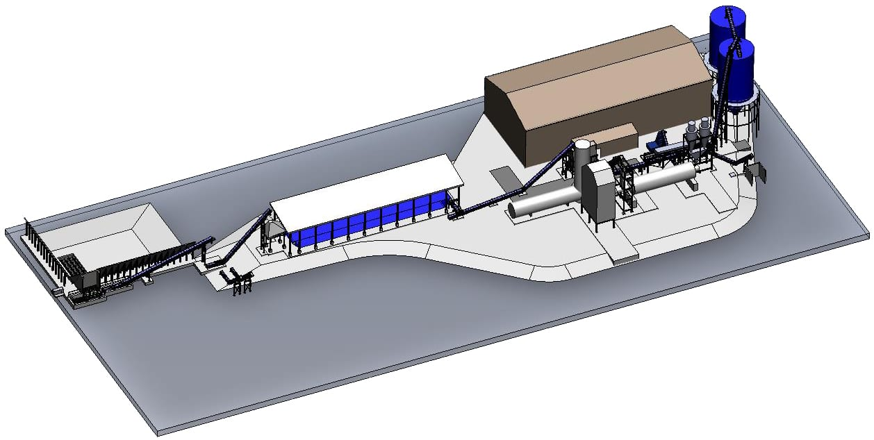 engineering services - 3d modeling - mill layout and design