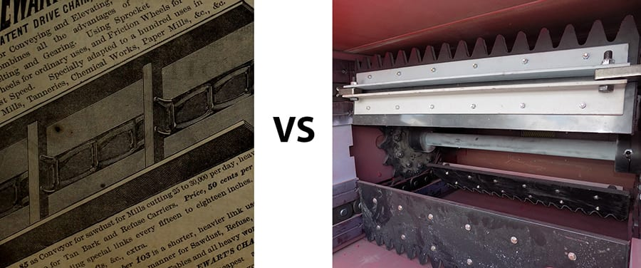 1885 conveyor vs t-series conveyor - small