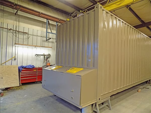 smart container bin from Biomass Engineering & Equipment