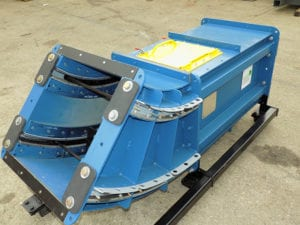 Section view of S-Series SMART Conveyor for biomass transfer