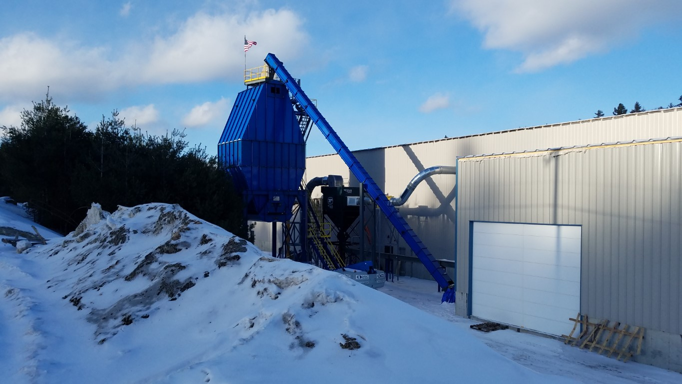 cold weather conveyors; winterized conveyors