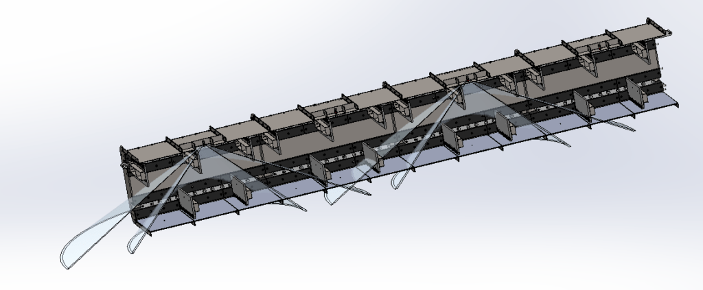 deluge system for enclosed conveyor