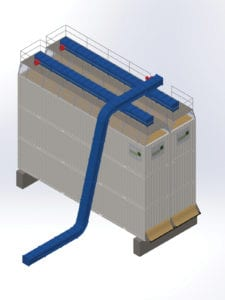 Silo Storage for DDGS - Horizontal Silo for DDGS Ethanol Coproduct Storage