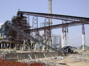 """Modern"" Drag Conveyor at a Chinese power plant"