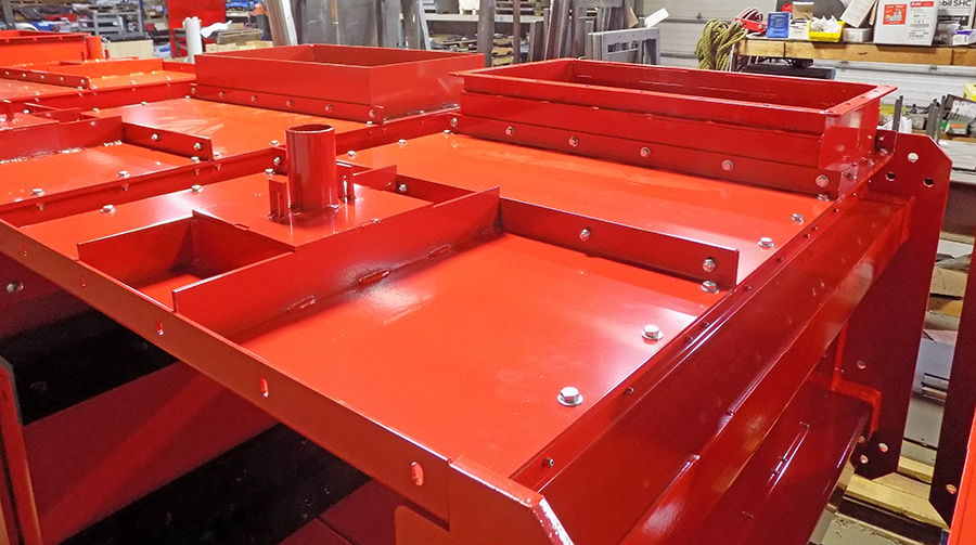 Conveyors for Drax Biomass with Deluge from Biomass Engineering & Equipment