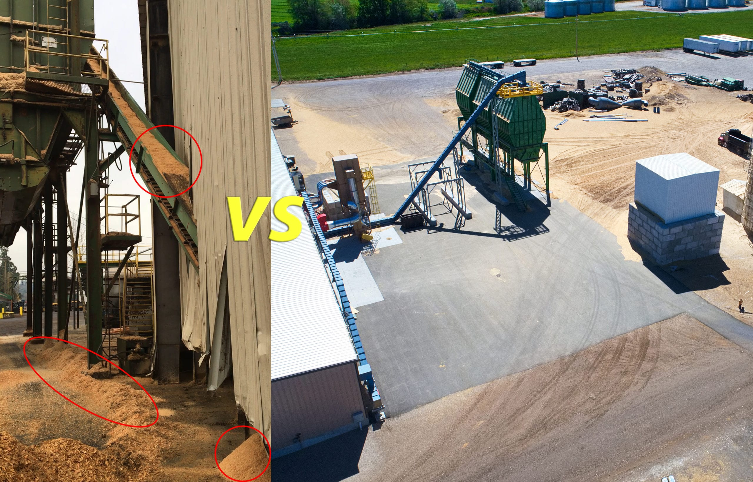 dust-tight conveyors and material handling equipment.