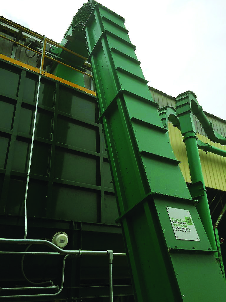Enclosed Drag Conveyor - Biomass Engineering & Equipment